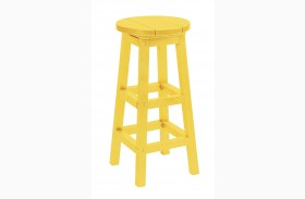 Generation Yellow Swivel Bar Stool