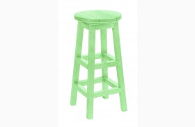 Generation Lime Green Swivel Bar Stool