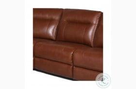 Casa Coach Leather Armless Chair