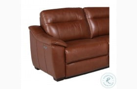 Casa Comely Coach Leather LAF Power Recliner