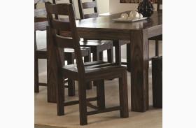 Calabasas Dark Brown Dining Side Chair Set of 2