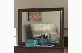 Calabasas Dark Brown Bevelled Landscape Mirror