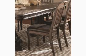 Carlsbad Dark Brown Dining Side Chair Set of 2