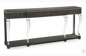Caracole Classic Black Maple Console Table