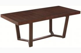 Class Extendable Rectangular Dining Table
