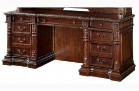 Roosevelt Cherry Credenza Desk