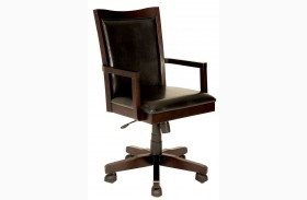 Rhoda Dark Walnut Office Chair