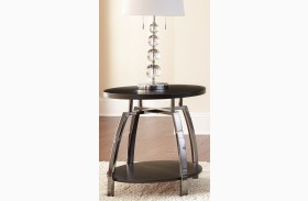 Coham Silvershield 3D Laminate End Table
