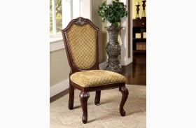 Napa Valley Dark Cherry Side Chair Set of 2