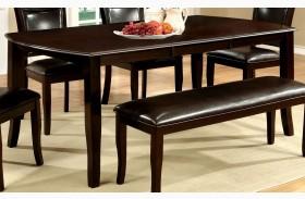 Woodside Dark Cherry Rectangular Extendable Leg Dining Table