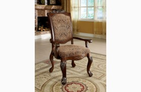 Cromwell Antique Cherry Arm Chair Set of 2