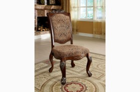 Cromwell Antique Cherry Side Chair Set of 2