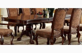 Cromwell Antique Cherry Extendable Dining Table