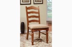 Spring Creek American Oak Side Chair Set of 2