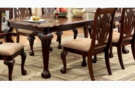 Petersburg I Cherry Rectangular Extendable Leg Dining Table