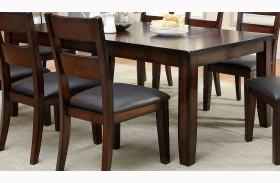 Dickinson I Dark Cherry Rectangular Extendable Leg Dining Table