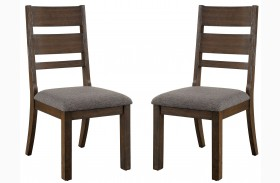 Isadora Espresso Side Chair Set Of 2