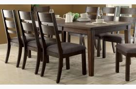Isadora Espresso Extendable Rectangular Dining Table