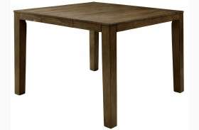 Eris II Weathered Gray Extendable Counter Height Table