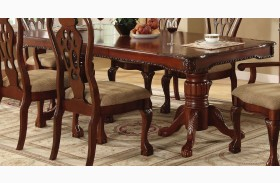 George Town Rectangular Double Pedestal Formal Dining Table