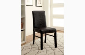 Rockham I Black Side Chair Set of 2