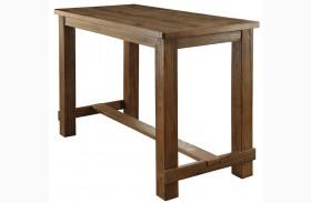 Sania Natural Tone Bar Table