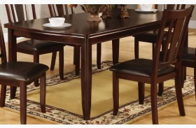 Edgewood I Espresso Rectangular Extendable Leg Dining Table