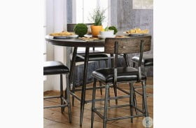 Mullane Weathered Gray Counter Height Dining Table