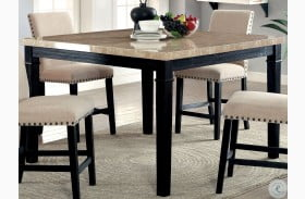 Dodson II Black Counter Height Dining Table