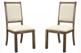 Colettte Beige Side Chair Set Of 2