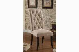 Marshall Rustic Oak Side Chair Set Of 2
