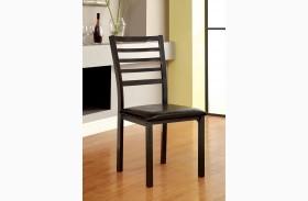 Colman Black Side Chair Set of 4