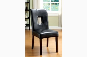 Lisbon I Leatherette Side Chair Set of 2