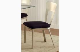 Nova Microfiber Side Chair Set of 2