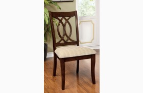 Carlisle Brown Cherry Side Chair Set of 2