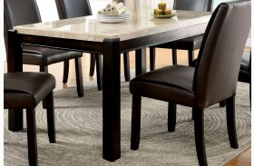 Gladstone I China Marble Table Top Dining Table