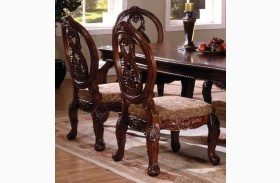 Tuscany II Antique Cherry Side Chair Set of 2