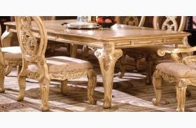 Tuscany III Antique White Rectangular Leg Dining Table