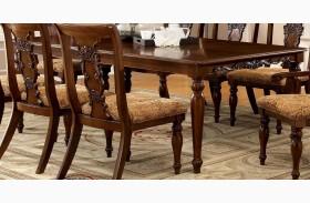 Seymour Dark Oak Rectangular Extendable Leg Dining Table
