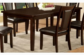 Emmons I Dark Cherry Rectangular Extendable Leg Dining Table