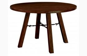 Dwight Dark Oak Round Dining Table