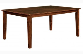 Hillsview I Brown Cherry Rectangular Leg Dining Table