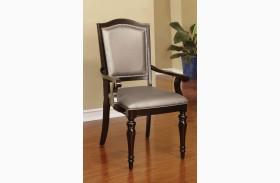 Harrington Tan Fabric Arm Chair Set of 2