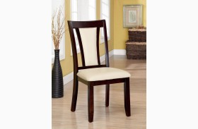 Brent Ivory Side Chair Set of 2