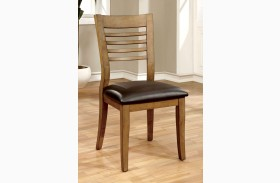 Dwight II Natural Tone Side Chair Set of 2