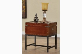 Milbank Cherry End Table