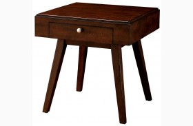 Kinley Brown Cherry End Table
