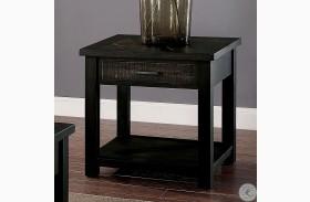 Rhymney Dark Oak End Table