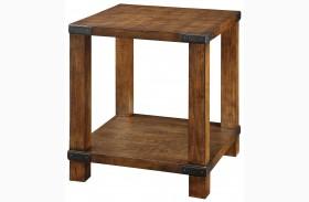 Broadus Dark Oak End Table