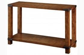 Broadus Dark Oak Sofa Table